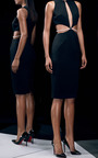 Power Viscose With Pearls Dress by CUSHNIE ET OCHS Now Available on Moda Operandi