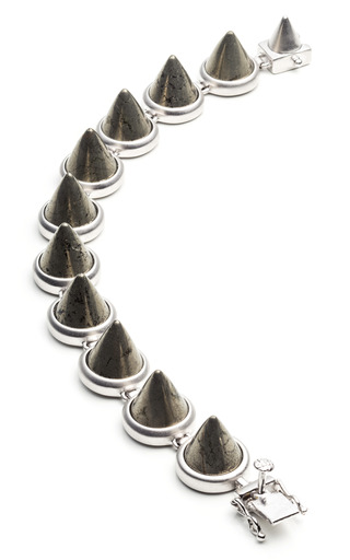 Gemstone Cone Bracelet by EDDIE BORGO for Preorder on Moda Operandi