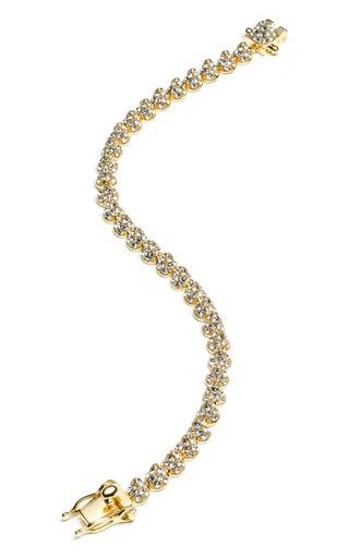 Medium eddie borgo pink pave mini cone bracelet 2