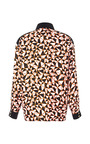 Geo Blocked Long Sleeve Blouse by FAUSTO PUGLISI for Preorder on Moda Operandi