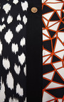 Abstract Animal And Geo Blocks Shirt by FAUSTO PUGLISI for Preorder on Moda Operandi
