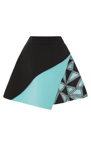 Medium fausto puglisi multi three layer mini skirt