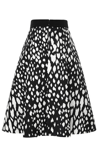 Animal Spotted Nana Skirt by FAUSTO PUGLISI for Preorder on Moda Operandi