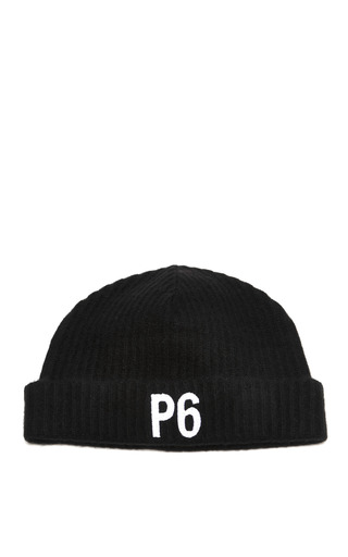 Medium principle 6 black for alexander wang cashmere beanie