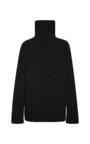 Black Cashmere Turtleneck by ANTONIO BERARDI for Preorder on Moda Operandi