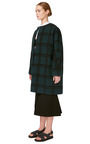Pressed Wool Check Coat by MARNI for Preorder on Moda Operandi