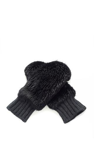 Castoro Lp Beaver Fur Gloves by MARNI for Preorder on Moda Operandi