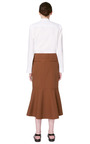 Washed Gabardine Skirt by MARNI for Preorder on Moda Operandi