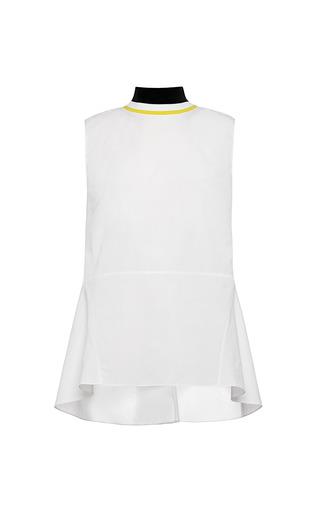 Medium marni white dry twisted cotton tank top