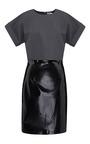 Liquid Effect Combination Dress by MSGM for Preorder on Moda Operandi
