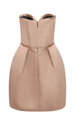 Strapless Duchess Satin Dress by MSGM for Preorder on Moda Operandi