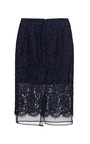 Corded Lace Pencil Skirt by MSGM for Preorder on Moda Operandi