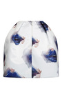 Printed Duchess Satin Skirt by MSGM for Preorder on Moda Operandi