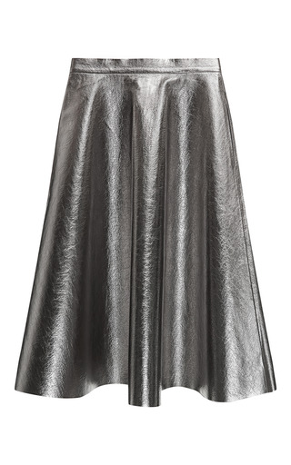 Faux Leather Skirt by MSGM for Preorder on Moda Operandi