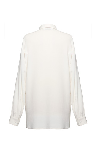 Georgette Shirt by MSGM for Preorder on Moda Operandi