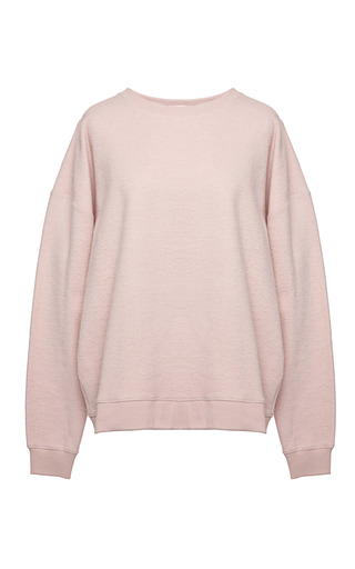 Medium msgm multi fleece beauty sweatshirt