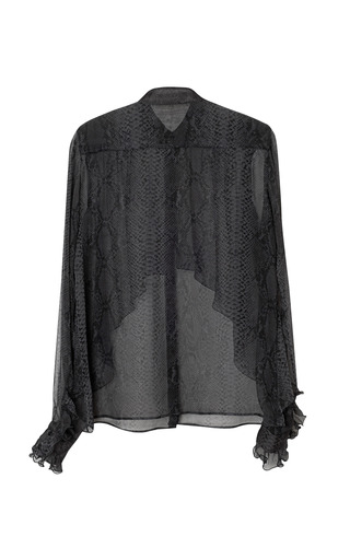 Abstract Frill Blouse by CHRISTOPHER KANE for Preorder on Moda Operandi