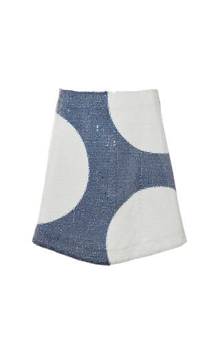 Medium suno multi a line mini skirt