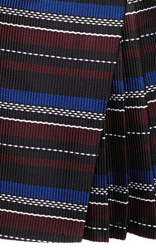 Side Pleat Woven Mini Dress by SUNO Now Available on Moda Operandi