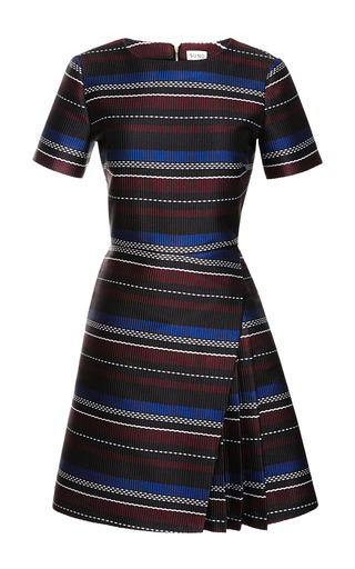 Side Pleat Woven Mini Dress by SUNO Now Available on Moda Operandi