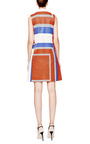 Graphic Print Pleated Dress by SUNO Now Available on Moda Operandi