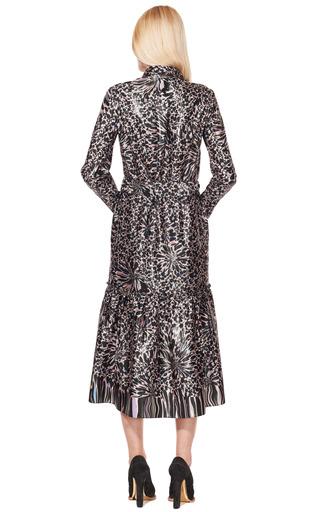 Bright Back Satin Printed Flowers Shirt Dress by SONIA RYKIEL for Preorder on Moda Operandi