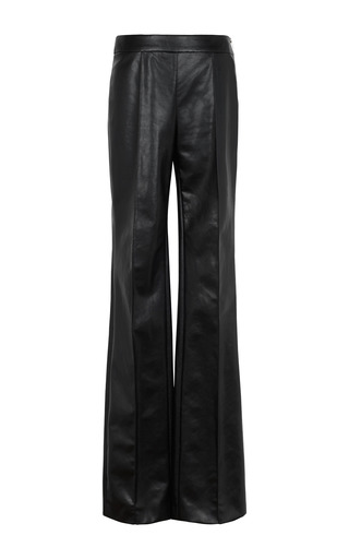 Medium sonia rykiel black leatherette pant