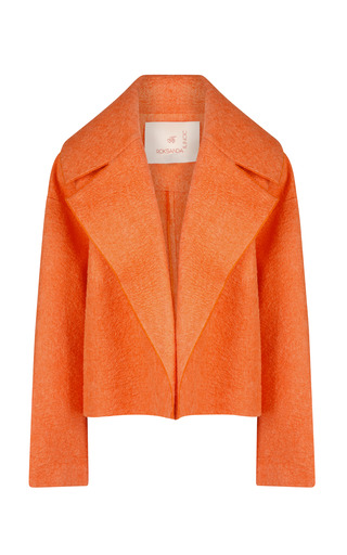 Medium roksanda ilincic orange tangerine bleeker jacket