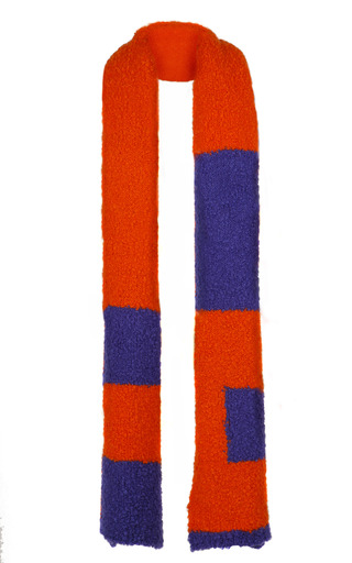 Medium roksanda ilincic orange tangerine scarf