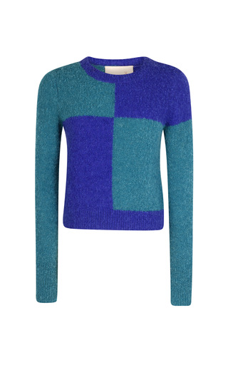Medium roksanda ilincic multi petrol burnham sweater