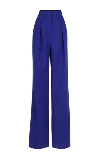 Medium roksanda ilincic dark grey peacock marlow trousers