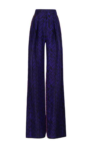 Medium roksanda ilincic orange purple print marlow trousers