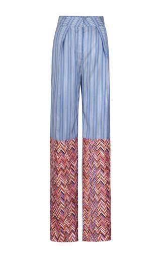 Medium roksanda ilincic stripe silk stripe lorrimore trousers