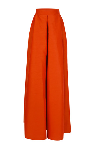 Medium roksanda ilincic orange dupion alia skirt