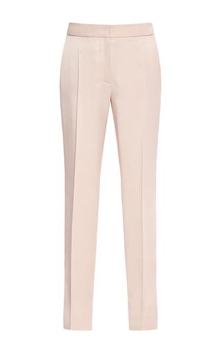 Medium cedric charlier nude satin trousers