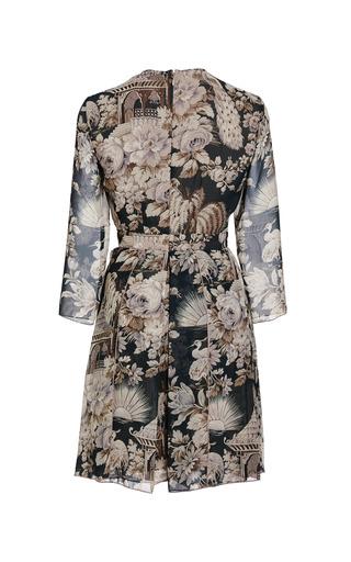 Aiko Pagoda Print Dress by NO. 21 for Preorder on Moda Operandi