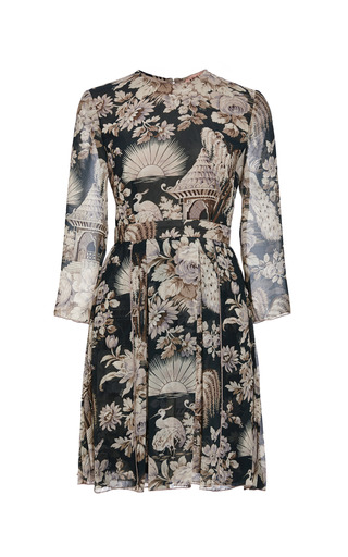 Medium no 21 print aiko pagoda print dress