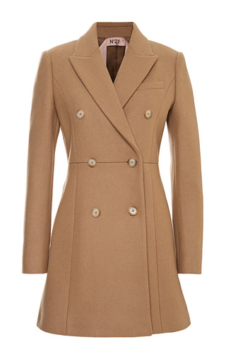 Medium no 21 brown cristel coat