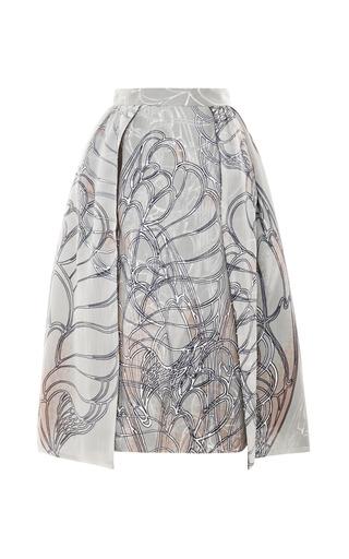 Medium honor ivory honor butterfly wings on silk organza skirt