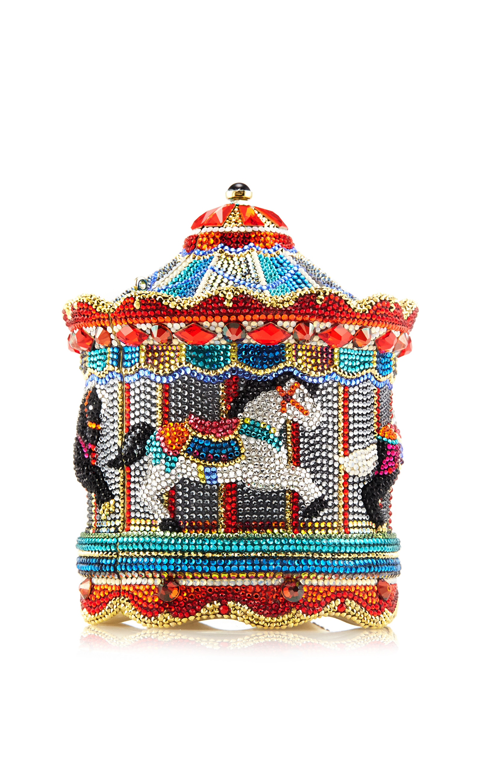 judith leiber carousel evening bag by judith leiber