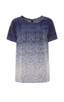 Nonoo Double Georgette Printed Tee by MISHA NONOO for Preorder on Moda Operandi