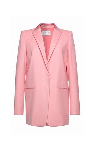 Medium vionnet pink vionnet light drape jacket