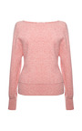 Vionnet Long Sleeve Boatslick Neck Lineapiu Sweater by VIONNET for Preorder on Moda Operandi