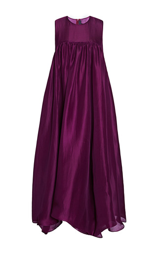 Medium ellery burgundy violet beauregarde dress