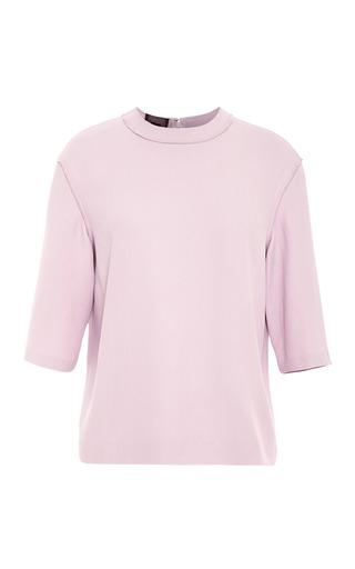 Medium giambattista valli pink heavy cady t shirt