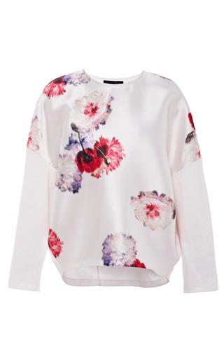 Medium giambattista valli multi poppy print duchess t shirt
