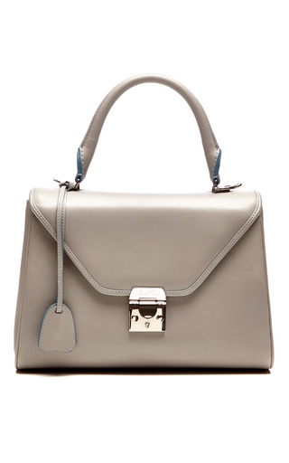 Medium mark cross dark grey small scottie bag in grey