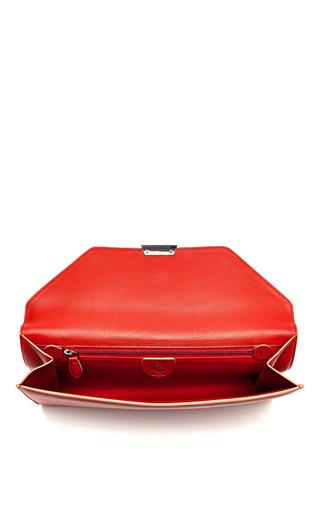 Riviera Clutch In Rust by MARK CROSS for Preorder on Moda Operandi