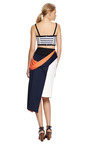 Bella Striped Bandeau Top by TANYA TAYLOR Now Available on Moda Operandi