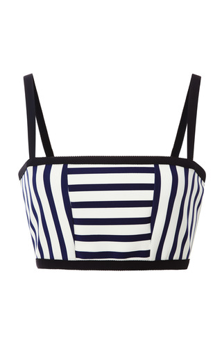 Medium tanya taylor multi bella striped bandeau top